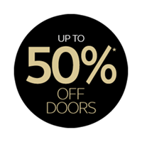 up to 55% off doors