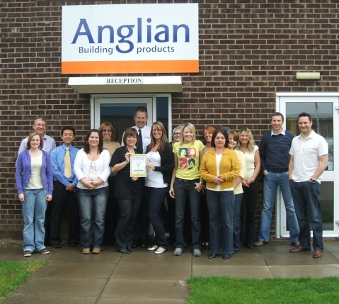 Anglian Building Products staff