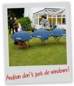 Typical British weather!