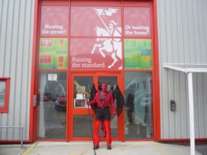 Anglian - Raising the standard in Halloween costumes 2009