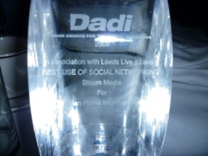 Anglian Home Improvements DADI award