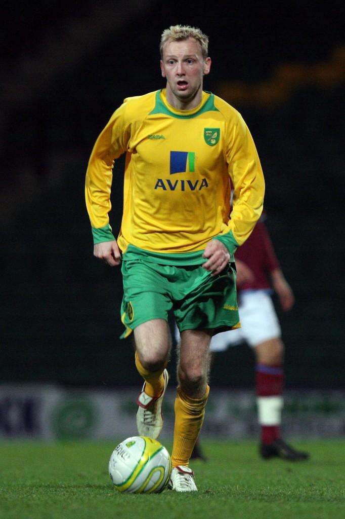 Norwich City star Stephen Hughes