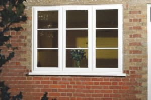 Replacing old windows with double glazing