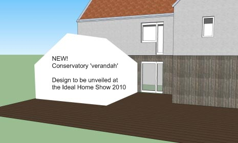 You need to be at the show to see the new verandah concept