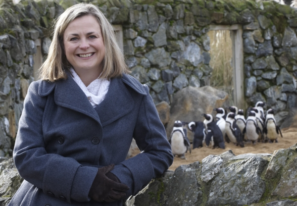 Phillipa Forrester & the penguins