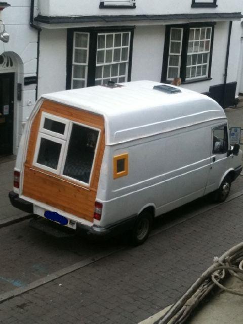 White Van takes their double glazing everywhere