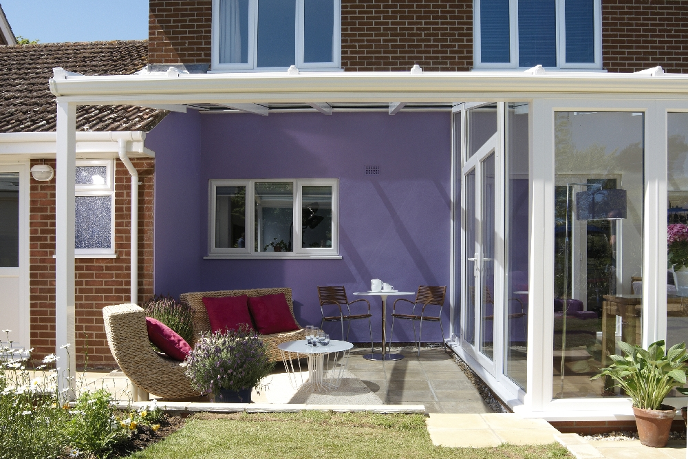 The new Verandah brings the garden into the home