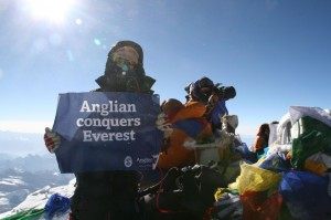 Anglian Windows conquers Everest