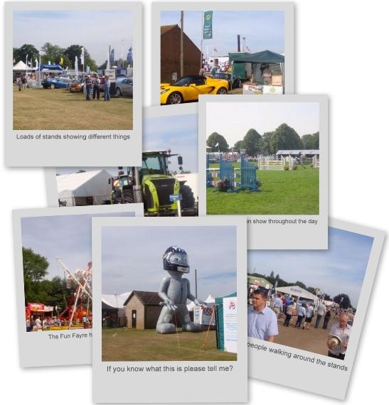 Norfolk Show photo Album
