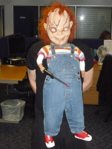 This was just childs play for Chucky