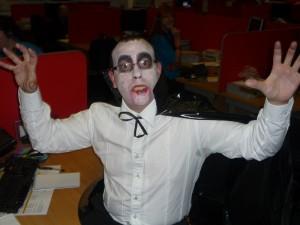 10 - Scared Vampire