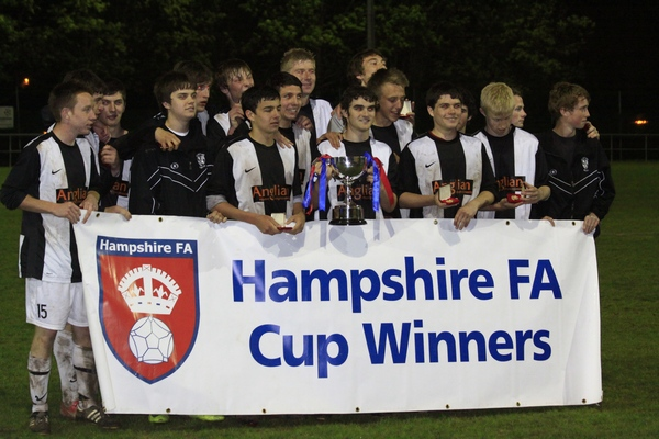Alresford Town Sunday U18's Cup Winners