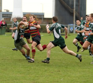 Powering for the try line