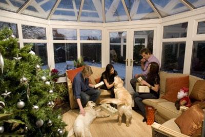 Anglian Christmas Conservatory