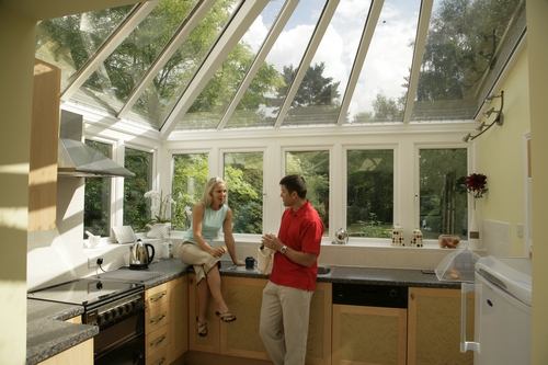 Kitchen conservatory conversion