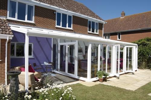 Lovely Anglian conservatory verandah