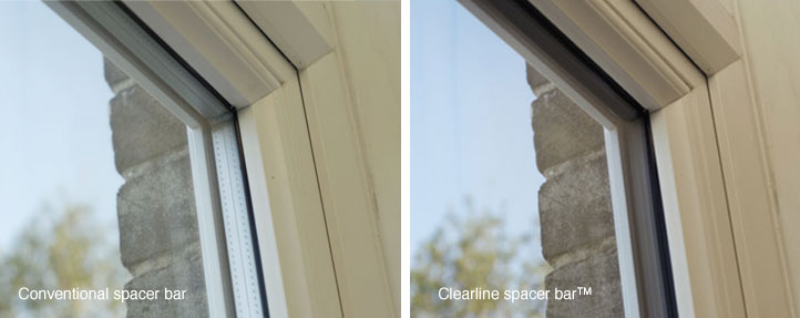 uPVC Clearline silver