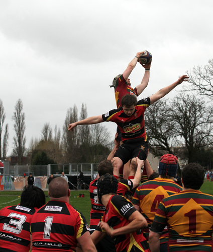 Line-out jump