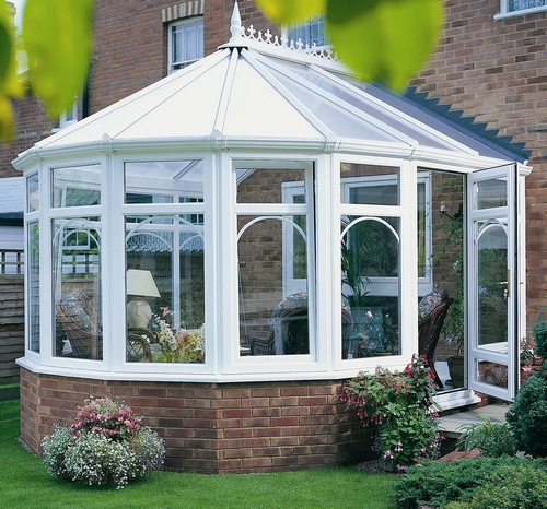 An Anglian White Knight Victorian Conservatory