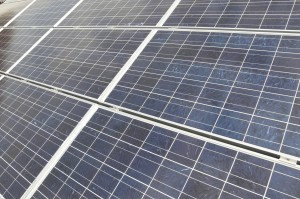 Solar is being invested in hugely