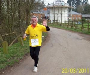 Vince Hannon running