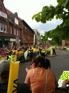 Parade in Norwich