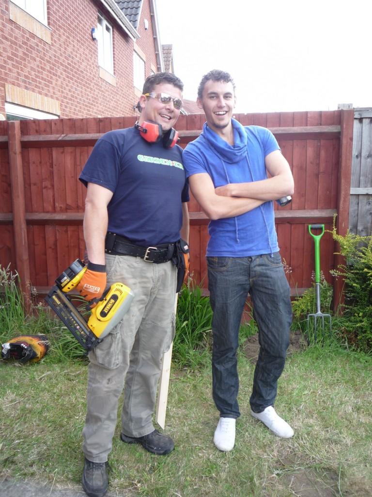 Garden ER AJ and Me
