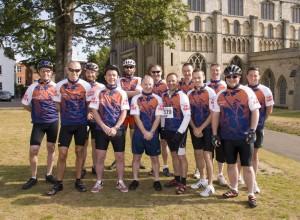 Tour de Norwich team