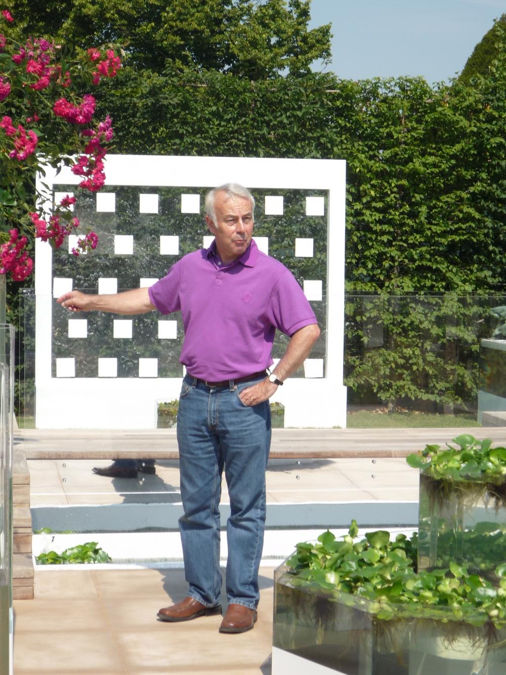 Richard Jackson on the Naked Garden