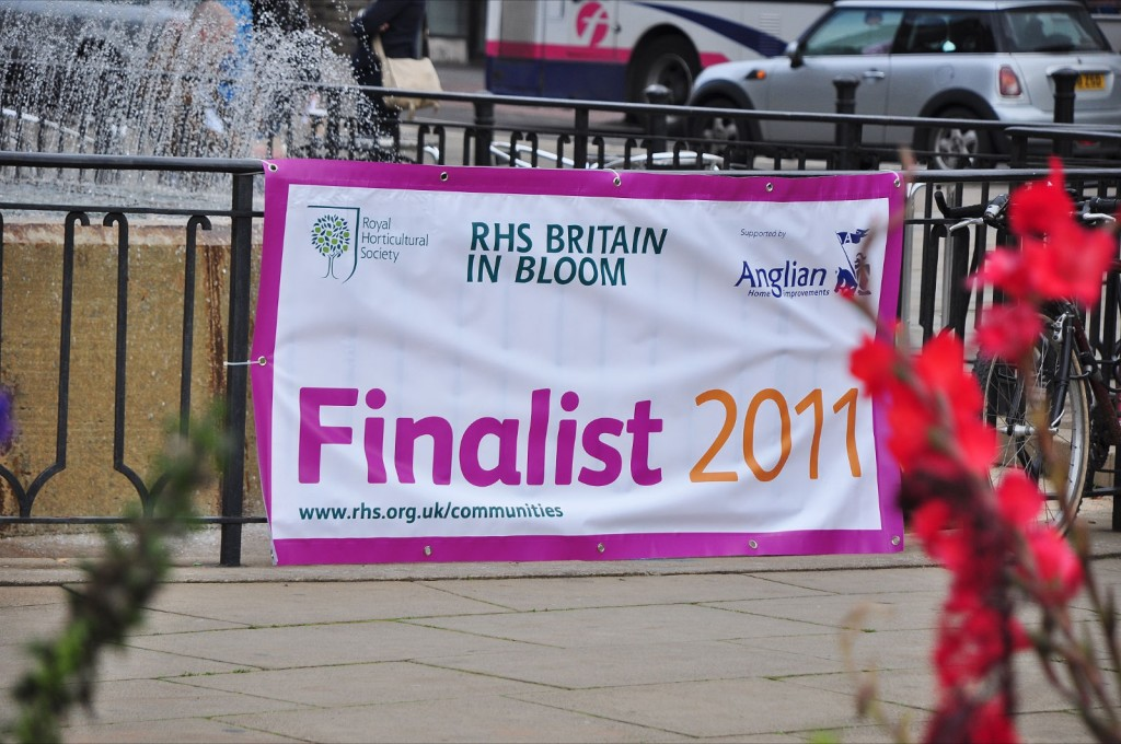 The Britain in Bloom banner