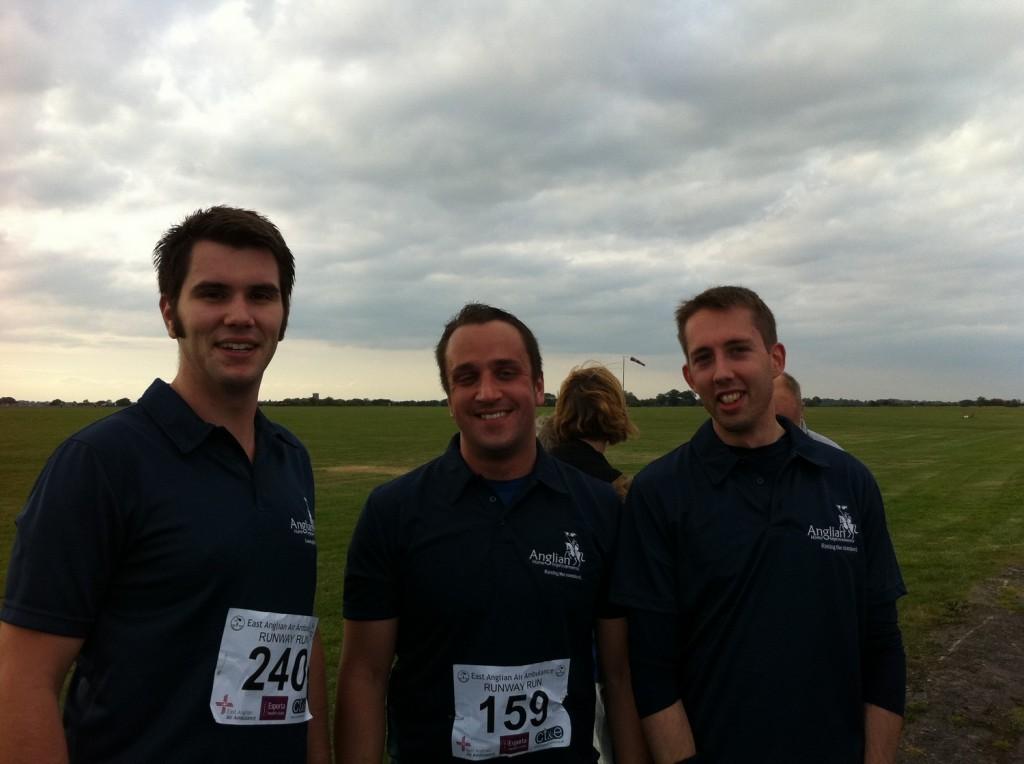 Joe Snowdon, Steve McGillivary and David Downes