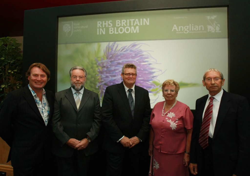 Martin with Filby in Bloom