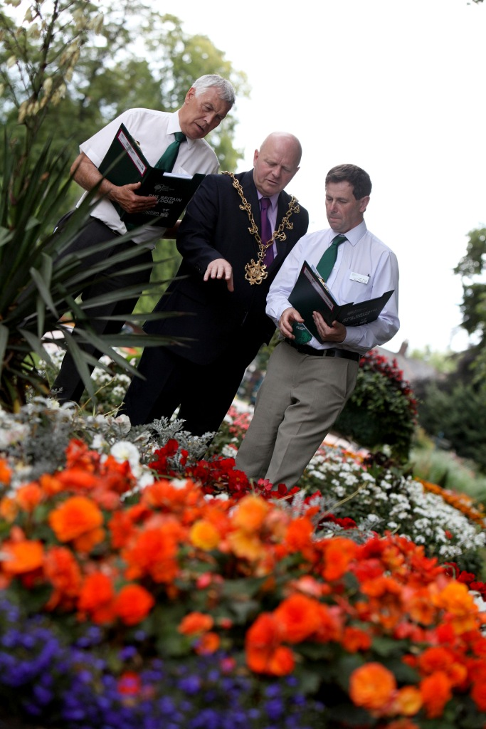 Stockton in Bloom Judging Day with The Mayor