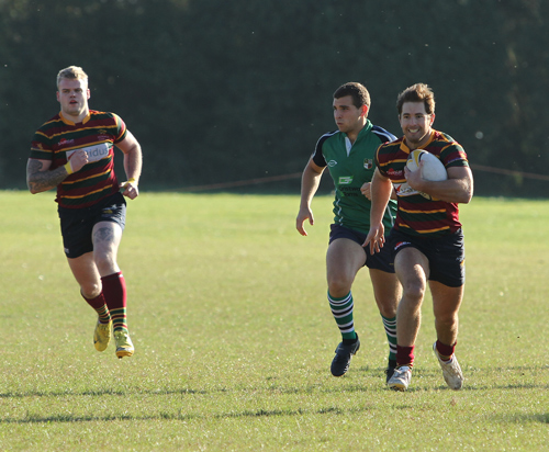 Sprinting for the try line