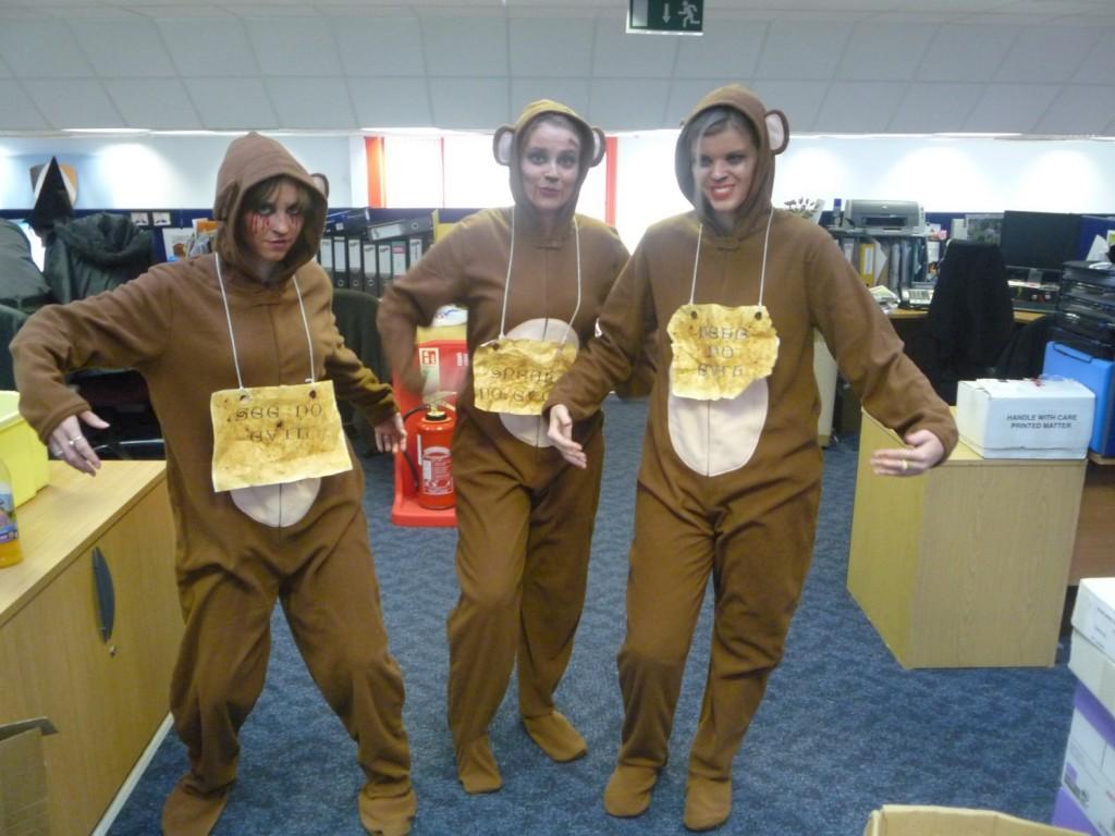 Halloween Winners 2011