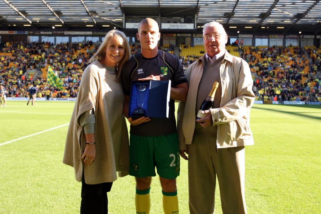 Marc Tierney won Player of the Month Award
