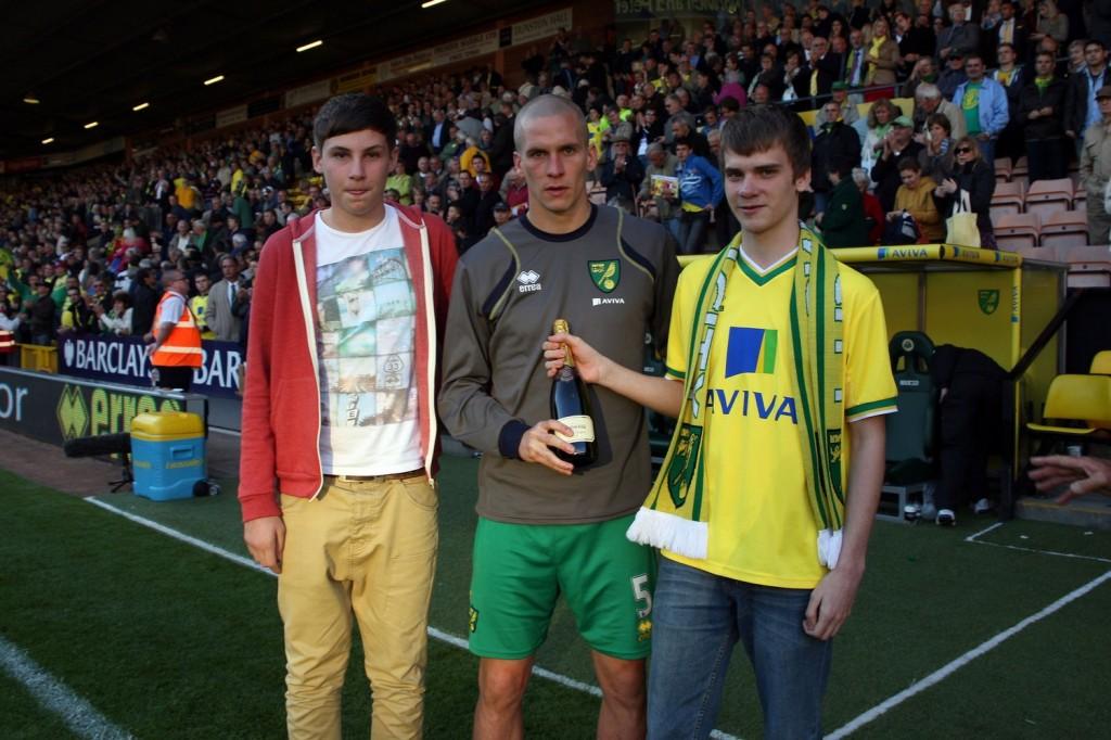 Steve Morison was Man of the Match