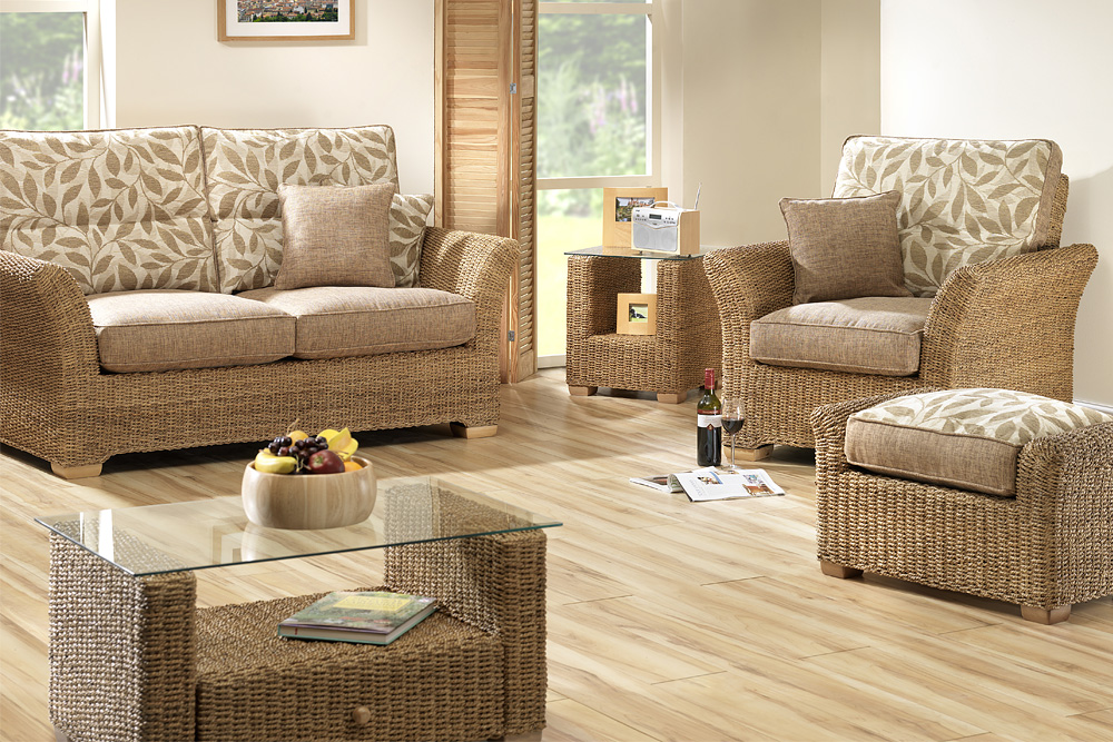 Lush conservatory furniture