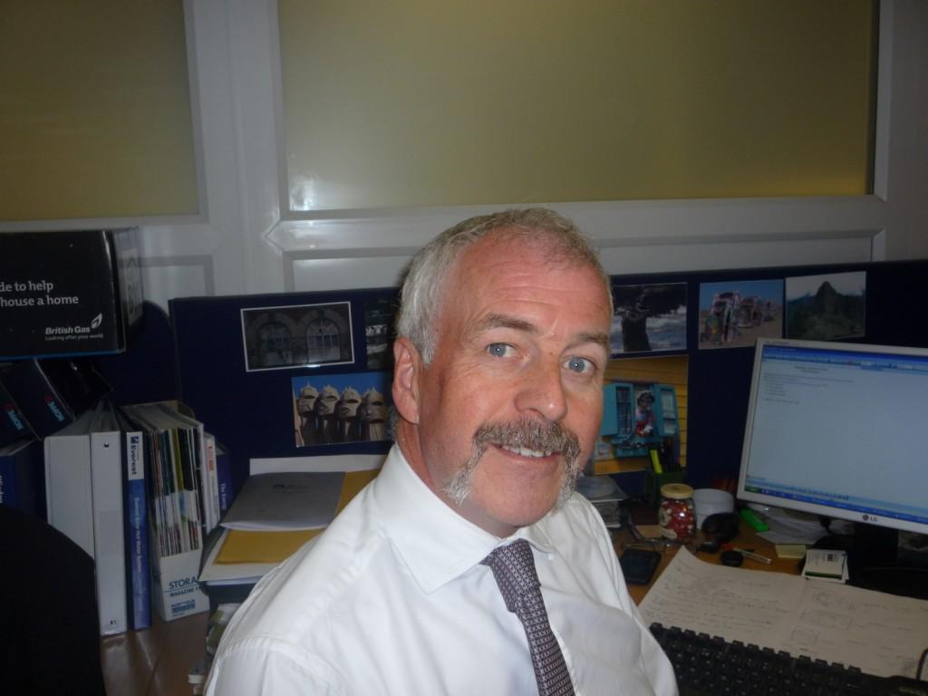 David Pitt Movember