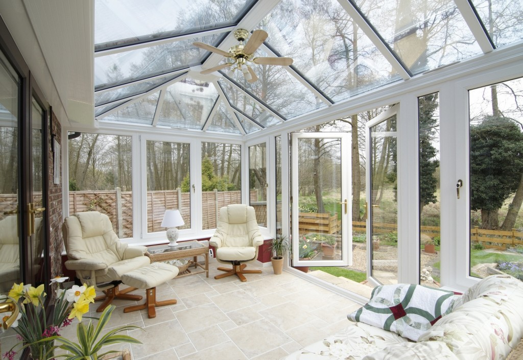 Stunning views outside of the relaxing conservatory