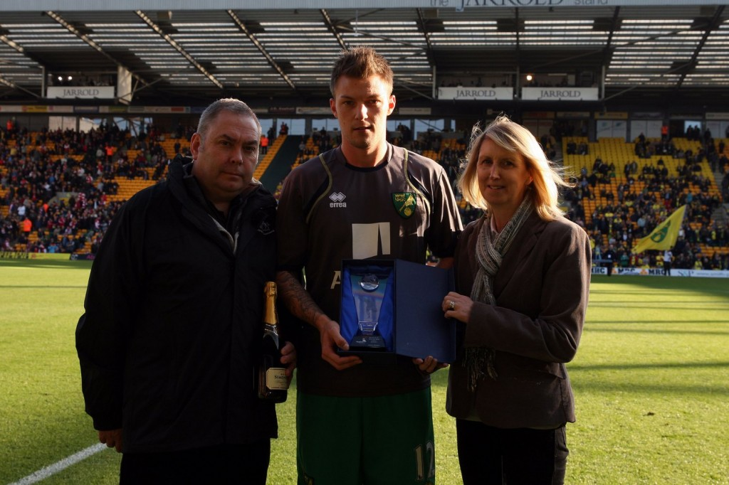 Anthony Pilkington was Player of the Month