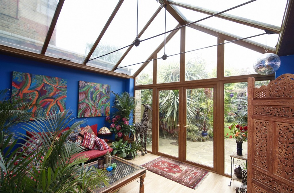 African themed conservatory