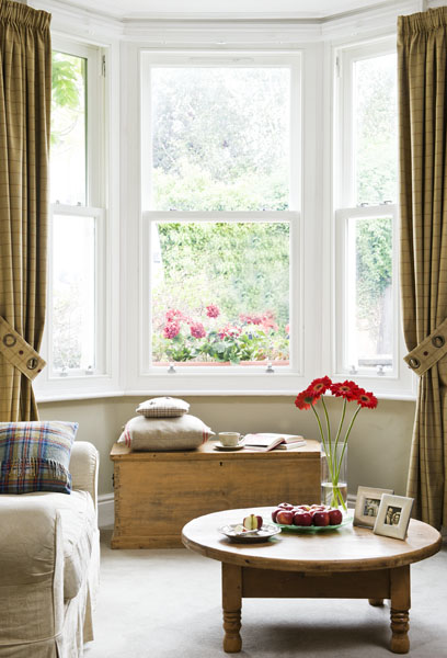 Timber windows great for country homes
