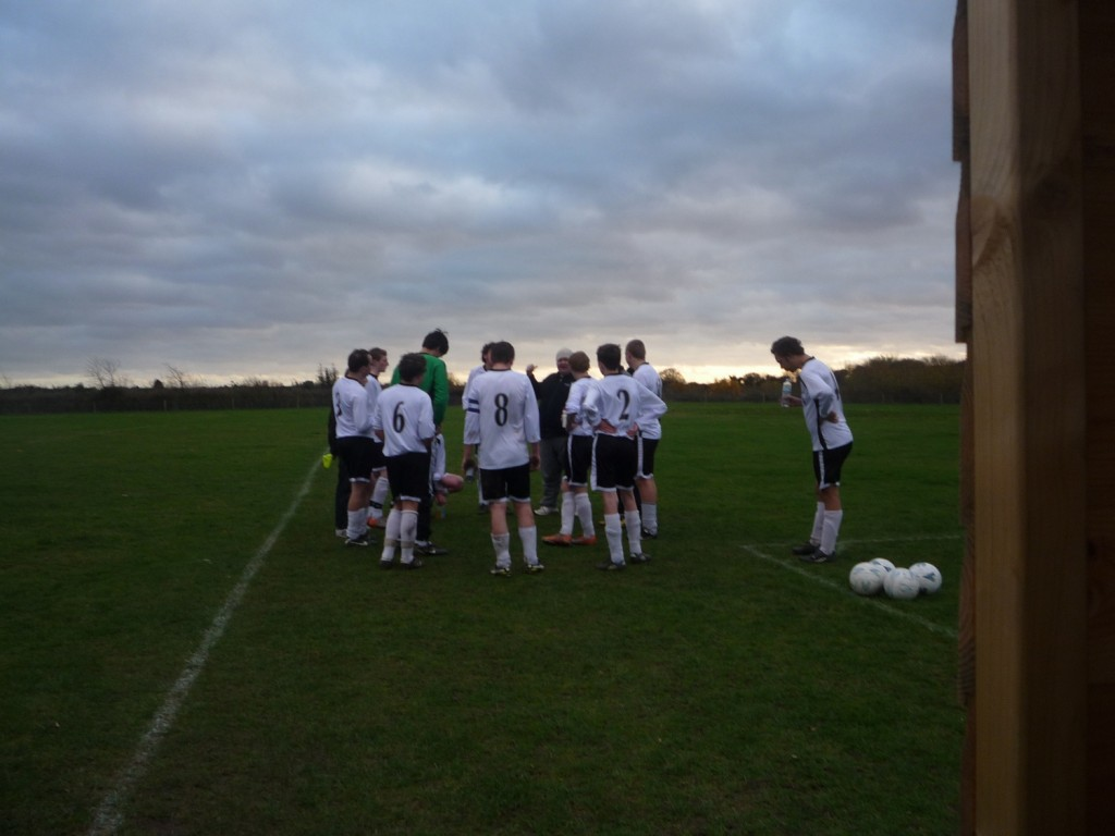 Half time team talk