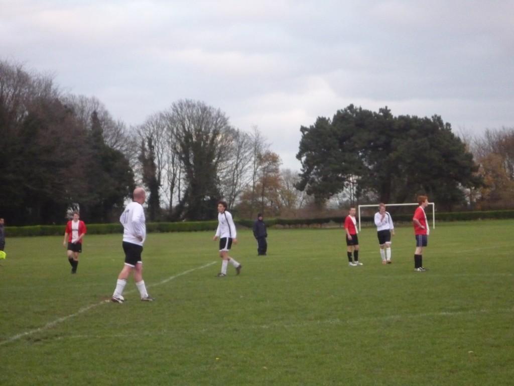 Goal kick Anglian regroup