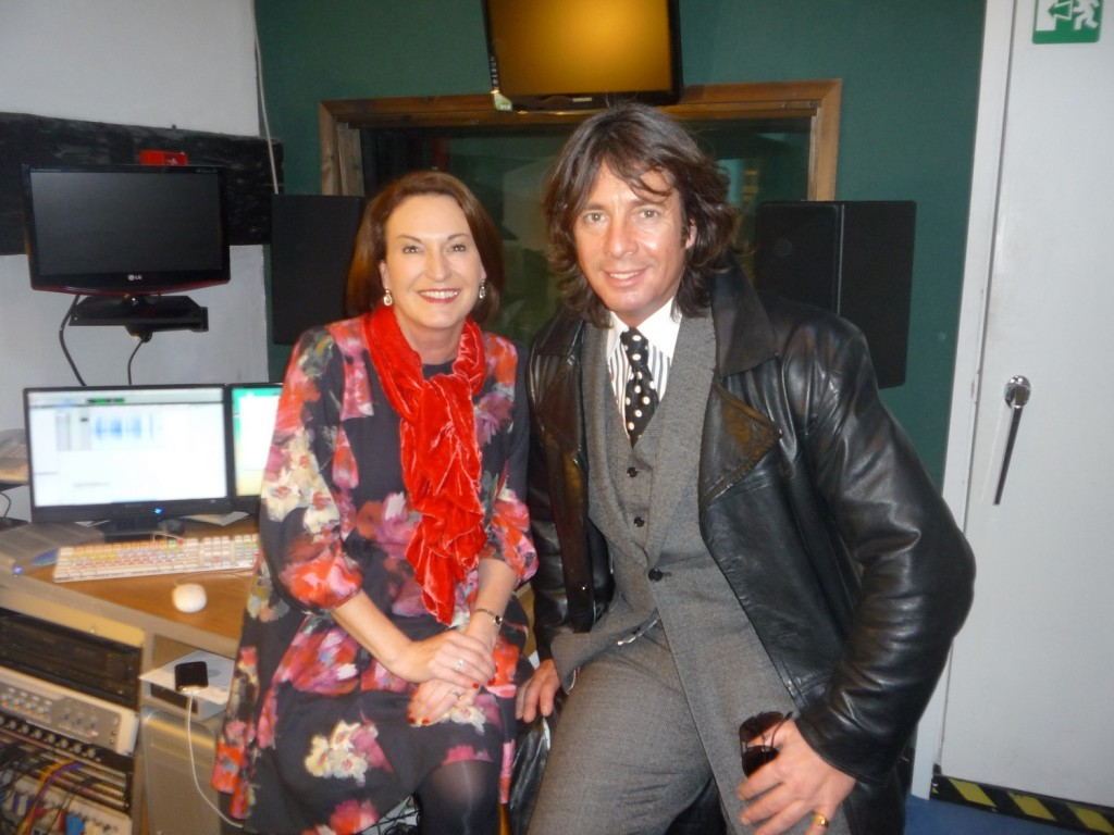 Melanie with Laurence Llewelyn Bowen