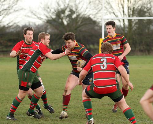 Norwich handing off Harlow
