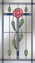Mackintosh inspired window
