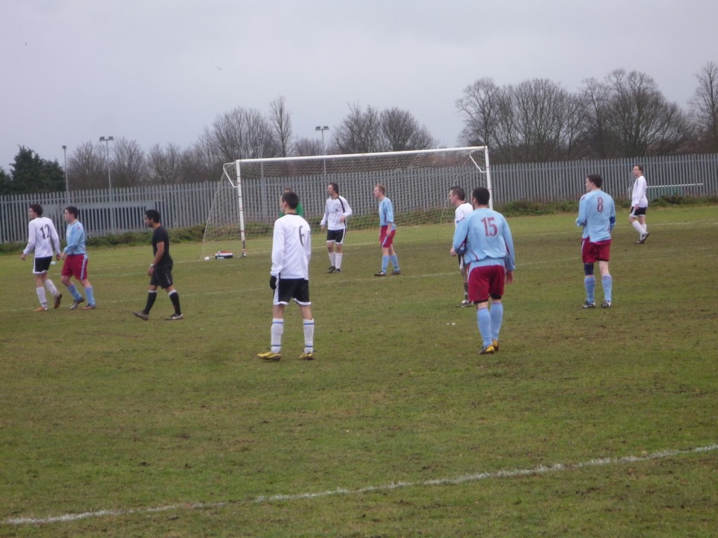 Anglian defending in the second half
