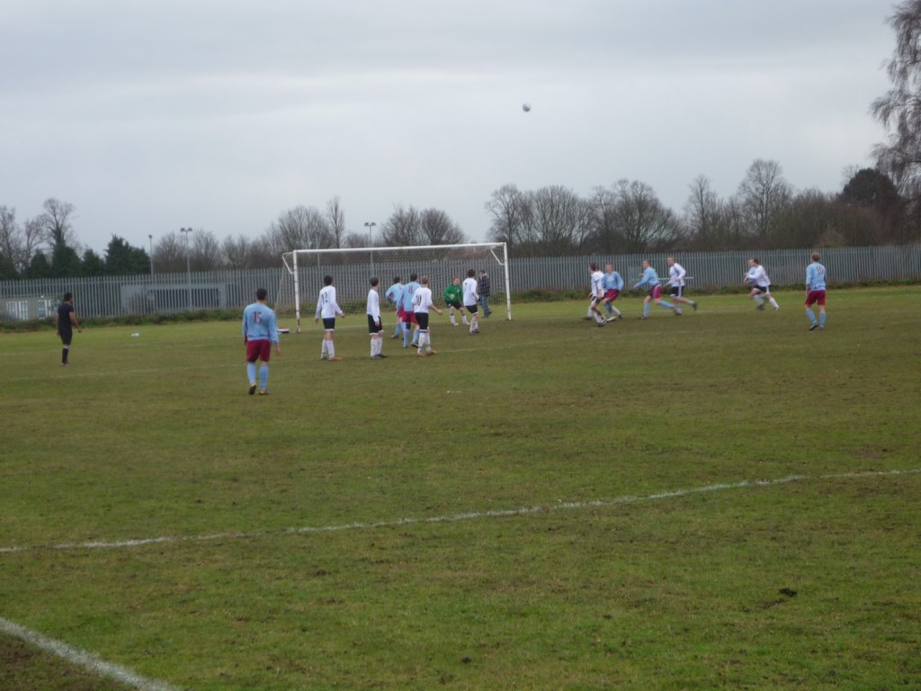 Mousehold scored from this free-kick